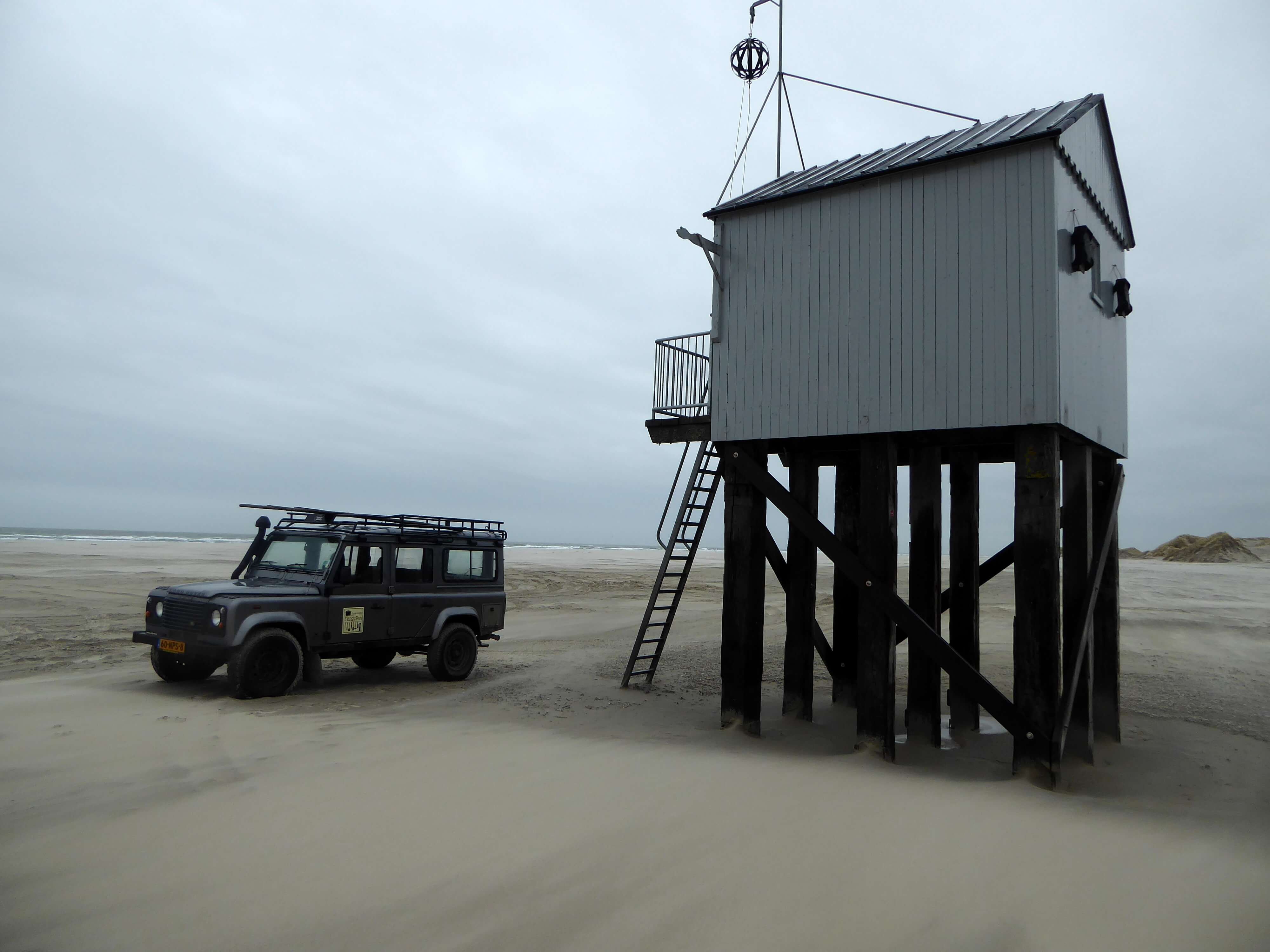 Strandtocht Landrover